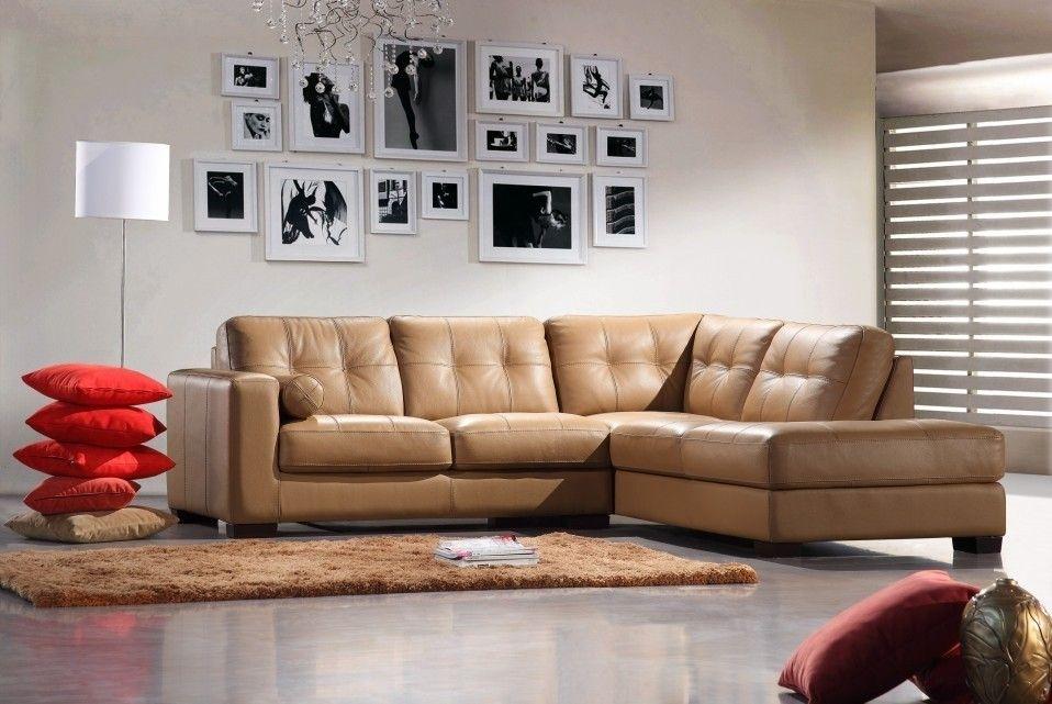 Bella Italia Leather 306 Sectional Sofa Camel   Bella Italia In Camel Sectional Sofas (Image 2 of 10)