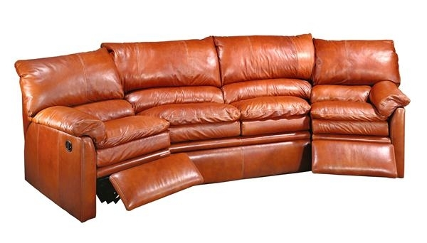 Bellagio Curved Motion Sofa | Creative Leather Furniture | New Inside Curved Recliner Sofas (View 7 of 10)