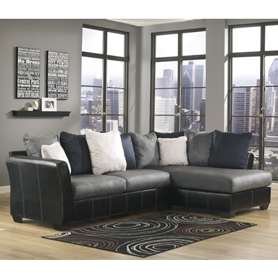 Benchcraft Reclining Sectionals Masoli 14200 2 Pc Sectional Within East Bay Sectional Sofas (Image 3 of 10)