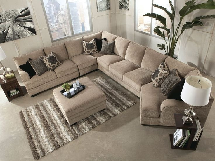 Best 25 Large Sectional Ideas On Pinterest Large Sectional Sofa Regarding Long Sectional Sofas With Chaise (Image 2 of 10)