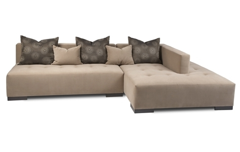 Best Choice Of Armless Sectional From West Elm Furnishings Better In Armless Sectional Sofas (Image 6 of 10)