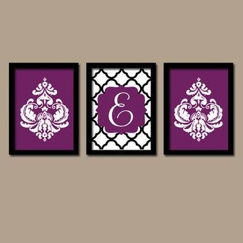 Best Damask Wall Art Products On Wanelo In Letters Canvas Wall Art (Image 6 of 20)