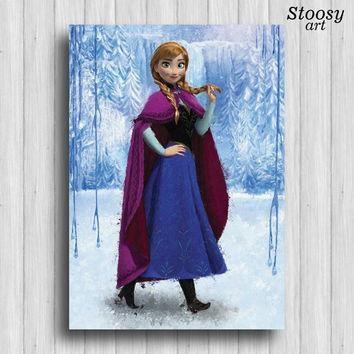 Best Disney Frozen Wall Art Products On Wanelo Inside Elsa Canvas Wall Art (Image 7 of 20)