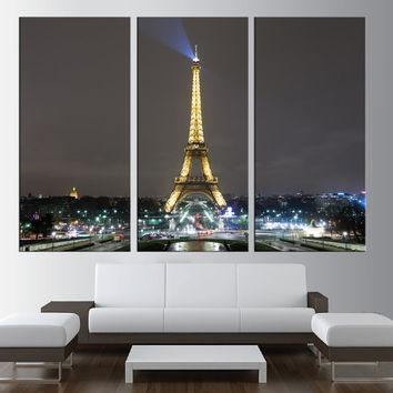 Best Extra Large Canvas Art Products On Wanelo With Eiffel Tower Canvas Wall Art (Image 3 of 20)