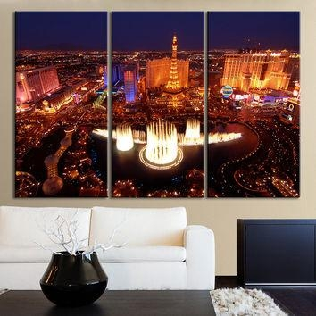 Featured Image of Las Vegas Canvas Wall Art