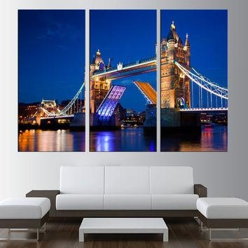 Best London Skyline Wall Art Products On Wanelo Throughout London Canvas Wall Art (Image 6 of 20)