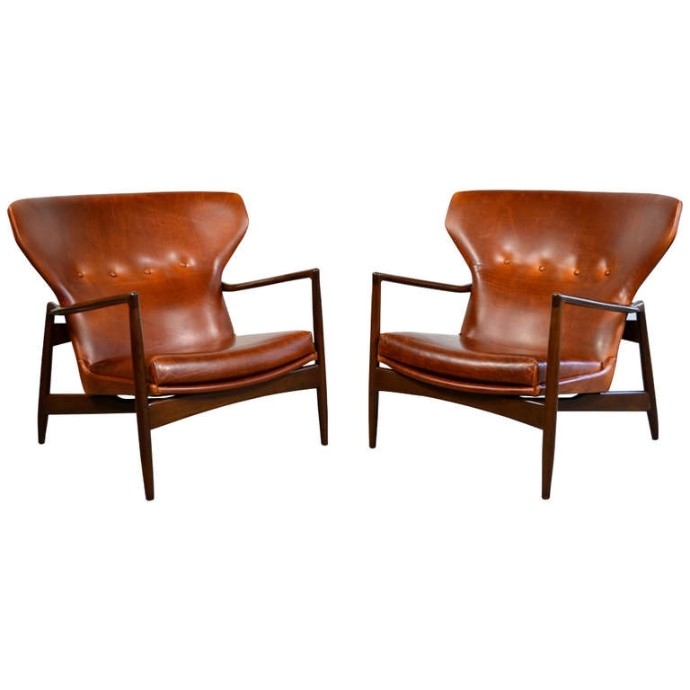 Best Lounge Sofas And Chairs Ib Kofod Larsen Pair Of Danish Modern With Regard To Lounge Sofas And Chairs (Image 2 of 10)