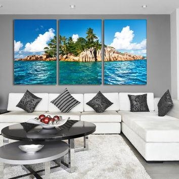Best Ocean Canvas Wall Art Products On Wanelo Intended For Ocean Canvas Wall Art (View 7 of 20)