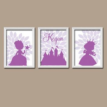 Best Personalized Princess Wall Art Products On Wanelo With Regard To Custom Nursery Canvas Wall Art (View 11 of 20)