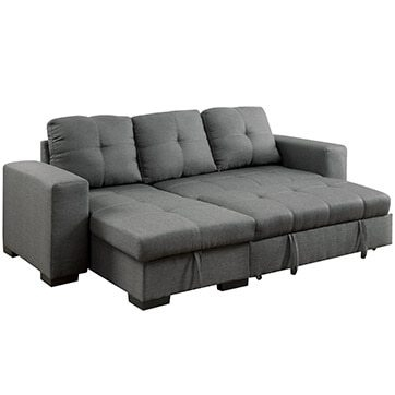 Best Sectional Sofas For Small Spaces – Overstock Inside Mini Sectional Sofas (Image 1 of 10)