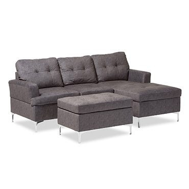 Best Sectional Sofas For Small Spaces – Overstock Inside Small Sectional Sofas (View 7 of 10)