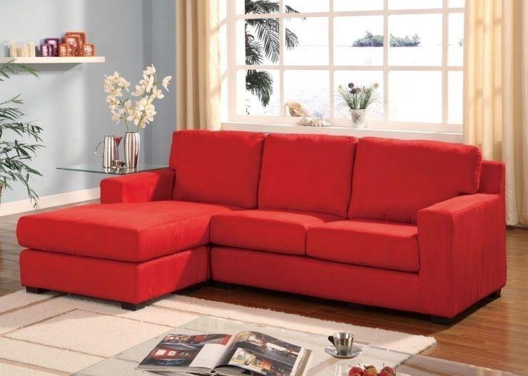 Best Small Sectional Sofa With Chaise Lounge Modern Design | Chaise Inside Red Leather Sectionals With Chaise (View 6 of 10)