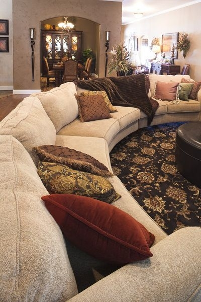 Betenbough Homes Lubbock Model Home – Living Room With Large Inside Lubbock Sectional Sofas (Image 3 of 10)