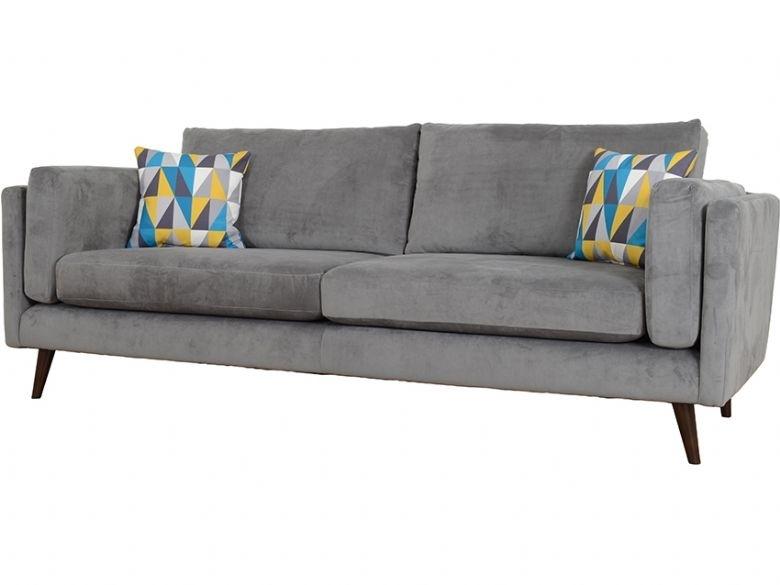 Bianca Extra Large 4 Seater Fabric Sofa – Lee Longlands Regarding Large 4 Seater Sofas (Image 3 of 10)