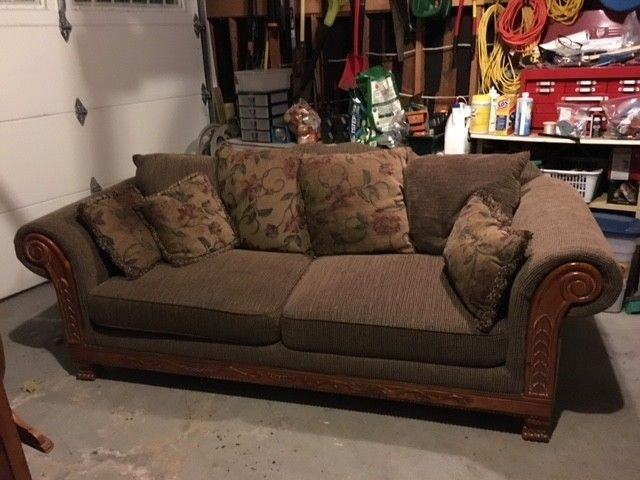 Big Comfy Sofa, Good Condition! | Couches & Futons | Oshawa / Durham Intended For Durham Region Sectional Sofas (Image 5 of 10)