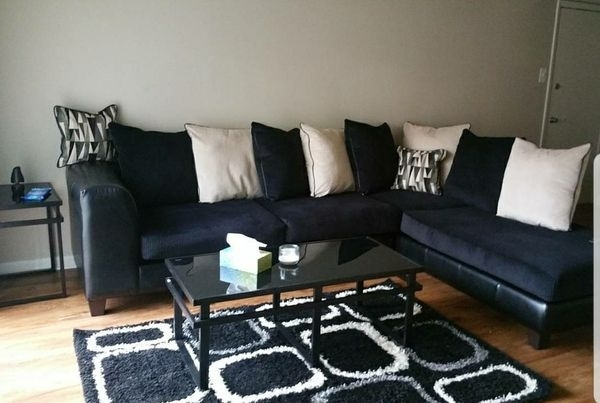Black And Grey Sectional Couches (Furniture) In Harrisburg, Pa – Offerup Within Harrisburg Pa Sectional Sofas (Photo 6 of 10)