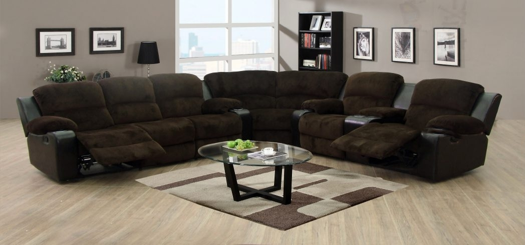 Black Leather Sectional Sofa Clearance Lounge Sectionals Modern Regarding Closeout Sofas (View 3 of 10)