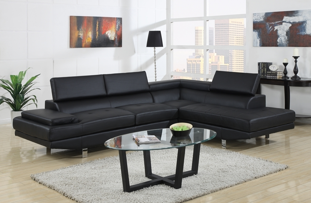 Black Modern Couches (View 7 of 10)