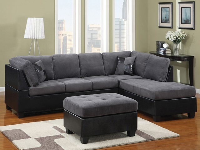Black Sectional Sofa | Bonners Furniture Intended For Black Sectional Sofas (Image 4 of 10)