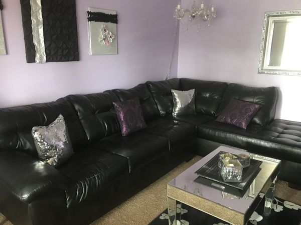 Black Sectional Sofa (Furniture) In Lubbock, Tx Within Lubbock Sectional Sofas (Image 5 of 10)