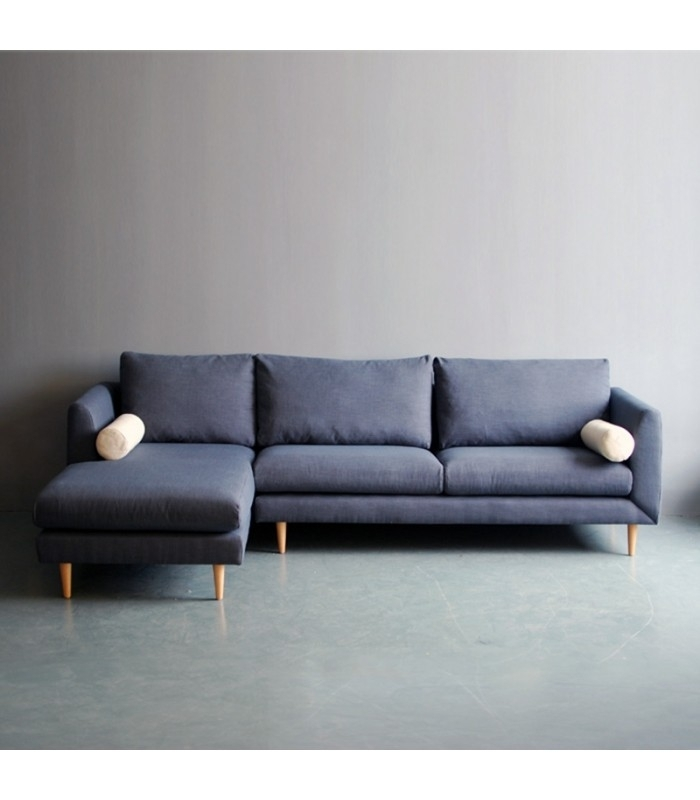 Bleu L Shaped Sofa – Mountain Teak Intended For L Shaped Sofas (Image 3 of 10)