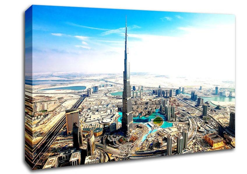 Featured Image of Dubai Canvas Wall Art
