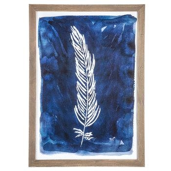 Blue Abstract Feather Wood Wall Decor | Hobby Lobby | 1474493 Throughout Hobby Lobby Abstract Wall Art (Image 6 of 20)