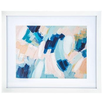 Blue, Pink & White Abstract Framed Wall Decor | Hobby Lobby | 1465574 Regarding Hobby Lobby Abstract Wall Art (Image 8 of 20)
