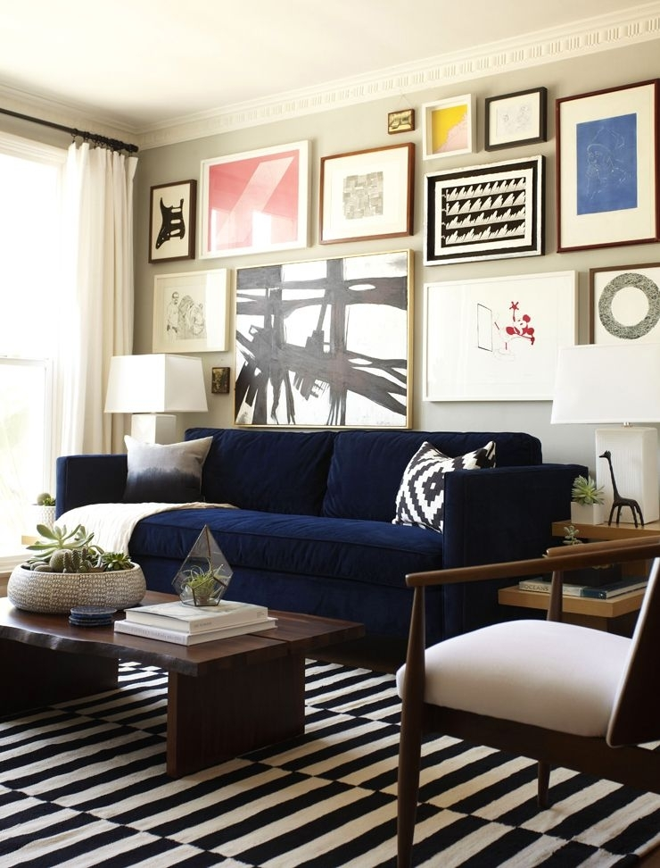 Featured Image of Dark Blue Sofas