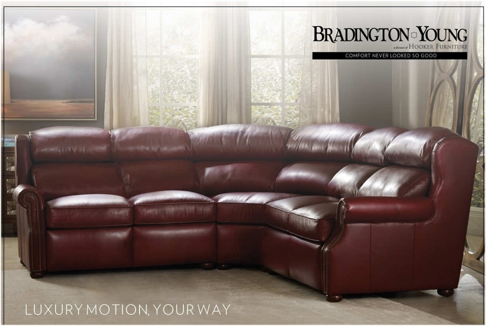 Bradington Young Luxury Motion Furniture Made In The Usa Pertaining To Sectional Sofas Under 900 (Photo 9 of 10)