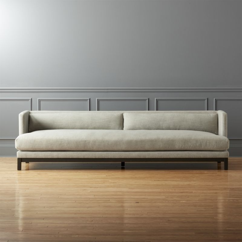Brava Sofa | Plush, Construction And Cozy Pertaining To Long Modern Sofas (Image 3 of 10)