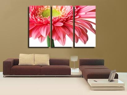 Brilliant 3 Piece Wall Art Painting Classic Flower Rose Canvas Regarding Canvas Wall Art Of Flowers (View 15 of 20)