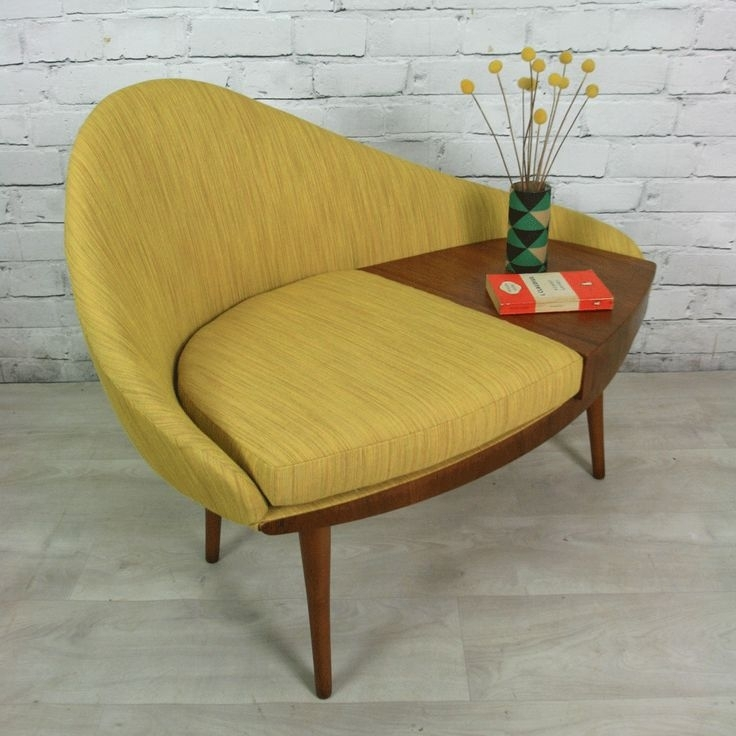 Bring The Classy Vintage Lookusing Retro Furniture In Retro Sofas And Chairs (Image 4 of 10)