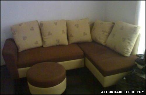 Brown Sectional Sofa L Shape For Sale Cebu Philippines 668 Within Philippines Sectional Sofas (Image 1 of 10)