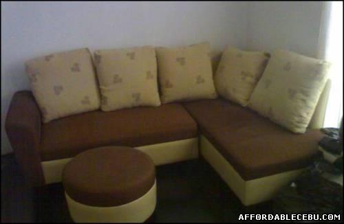 Brown Sectional Sofa L Shape For Sale Cebu Philippines 668 Within Philippines Sectional Sofas (View 4 of 10)