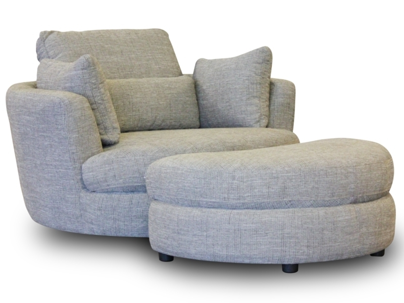 Brown Swivel Chair Corner Sofa And Club Bulay With Regard To Chairs Pertaining To Swivel Sofa Chairs (Image 3 of 10)