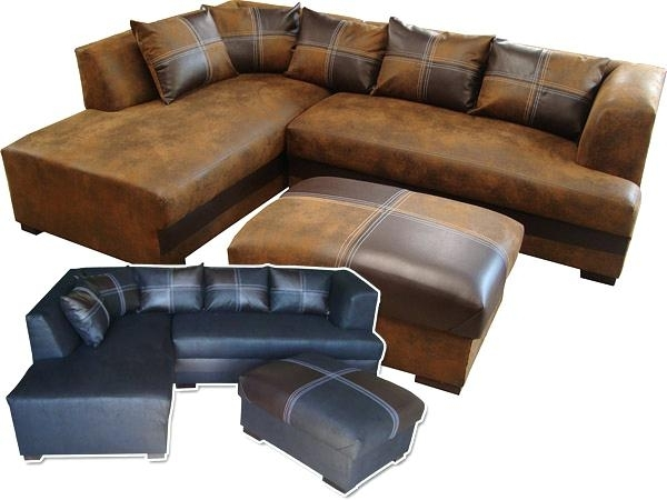 Buffalo Leather Couch Se Buffalo Leather Sectional Sofa – Thedropin (Image 7 of 10)
