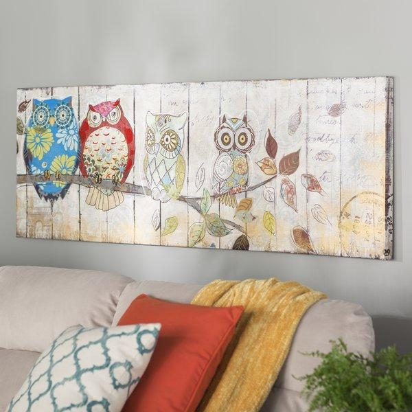 Burgundy Canvas Wall Art | Wayfair Within Joval Canvas Wall Art (View 14 of 20)