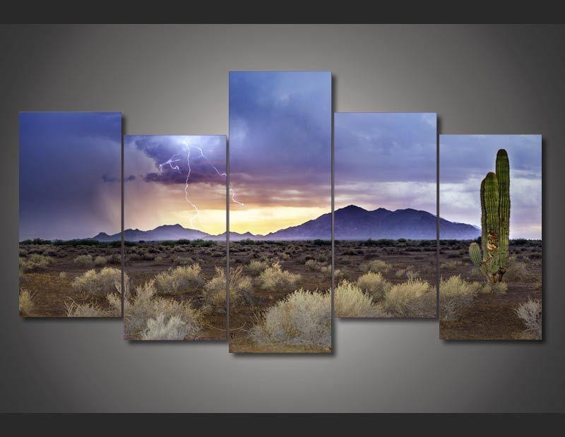Buy Arizona Painting And Get Free Shipping On Aliexpress With Regard To Arizona Canvas Wall Art (View 3 of 20)