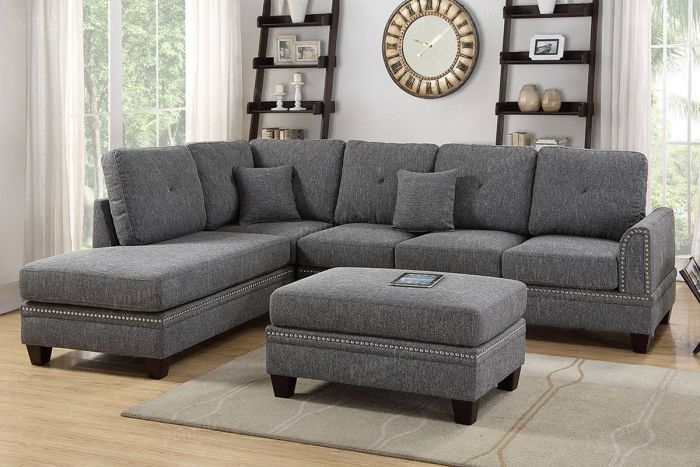 Buy Ash Black 2 Piece Sectional Sofa In El Paso, Tx – Ecof For El Paso Texas Sectional Sofas (Image 2 of 10)