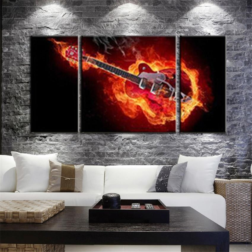 Buy Music Canvas Prints And Get Free Shipping On Aliexpress Throughout Music Canvas Wall Art (View 12 of 20)