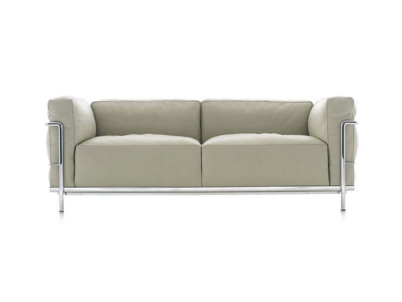 Buy The Cassina Lc3 Two Seater Sofa At Nest.co (Image 2 of 10)