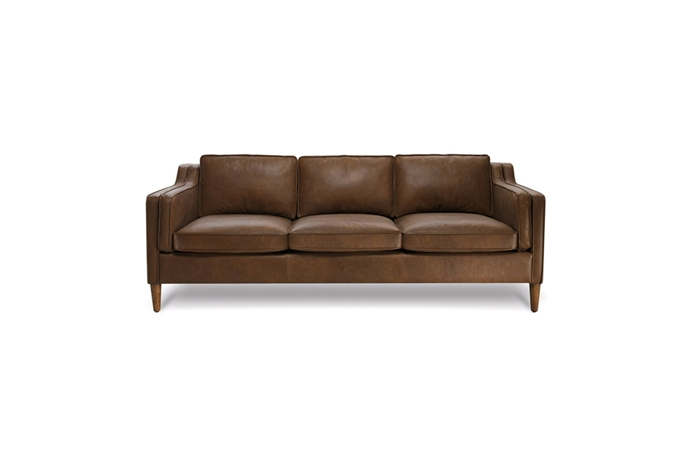 Canape Sofa 3 Seater – Bay Leather Republic Pertaining To Oxford Sofas (Image 2 of 10)