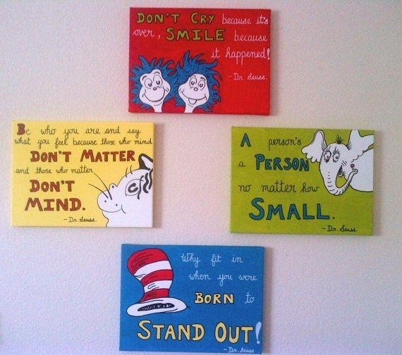Canvas Art On Pinterest Canvas Paintings Dr Seuss And Hello Kitty Throughout Hello Kitty Canvas Wall Art (Image 5 of 20)