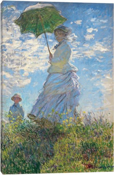 Canvas Art Printsclaude Monet — Icanvas With Regard To Monet Canvas Wall Art (Image 3 of 20)
