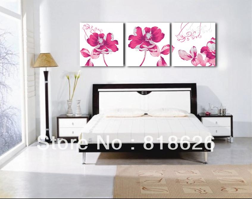 Canvas Bedroom Living Room Wall Hunging Decor Painting Art – Dma In Bedroom Canvas Wall Art (Image 8 of 20)