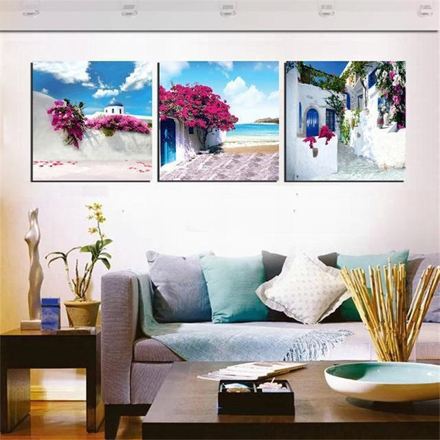 Featured Image of Greece Canvas Wall Art