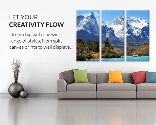 Canvas Prints | Save On Canvas Photo Prints | Canvas Factory With Big W Canvas Wall Art (Image 11 of 20)