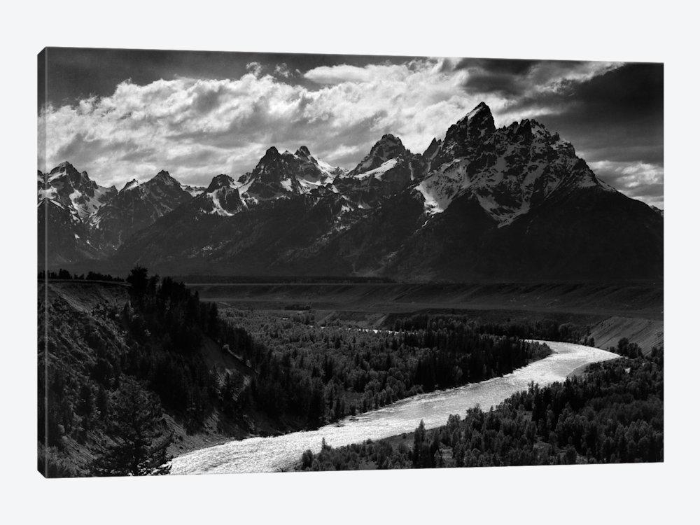 Canvas Printsansel Adams — Icanvas In Black And White Photography Canvas Wall Art (View 14 of 20)