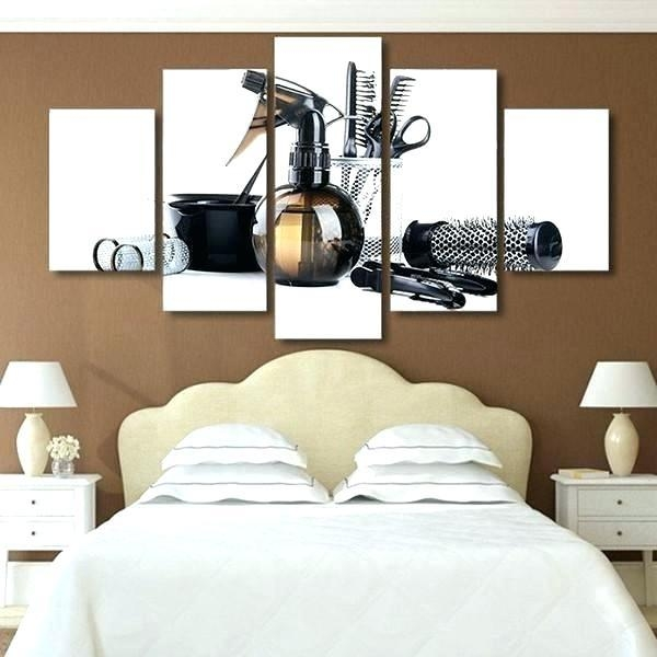 Canvas Wall Art For Master Bedroom – Serviette (Image 11 of 20)